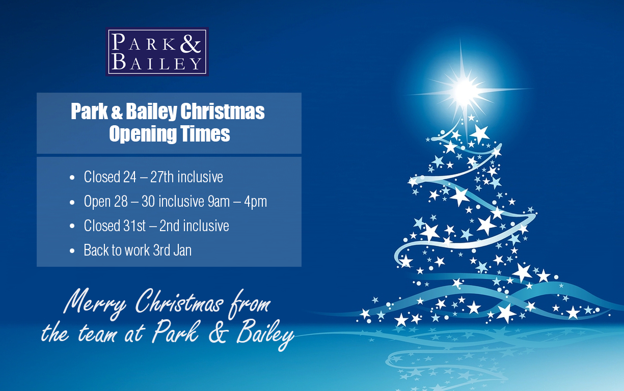 A Merry Christmas from the Park & Bailey team