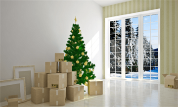 Tips for moving home at Christmas